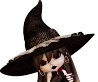 Cute Little Doll Witch