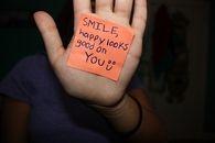 Smile, happy looks good on you