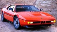 1978 through 1981 BMW M1 series