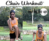 DIY Chair Workout