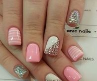 Pretty Nail Art for Short Nails