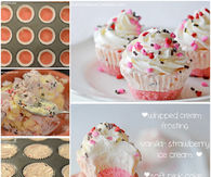 How to bake ice cream cupcakes