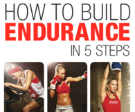 How to build endurance