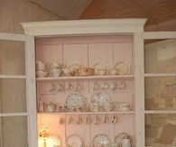 Shabby Chic China Hutch