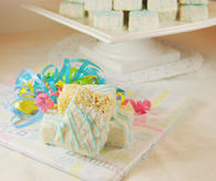 Baby Shower Rice Krispies