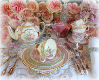 Pretty Vintage Tea Setting