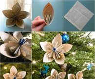 How to make old school paper ornaments