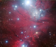 Christmas Tree star cluster and the Cone Nebula aka NGC 2264
