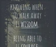 wisdom courage and dignity