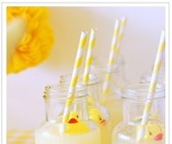 Rubber Duckey Baby Shower Drinks