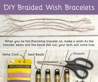 DIY Braided Wish Bracelets