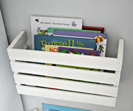Crate book Storage Ideas
