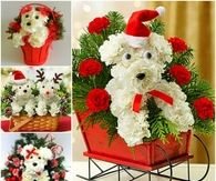 How to create a puppy bouquet