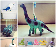 Cool organization ideas using dinosaurs