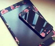 Flower iPhone and iPad cover