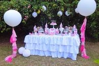Pink & Blue Garden Birthday Party
