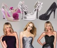 3 Styles of Holiday Party Dresses & High Heels