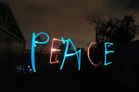 Peace in Neon
