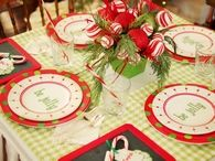 Cute Christmas Table