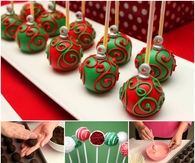 How to make ornament cake pops