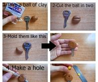 DIY Key Decorations