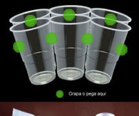 DIY Cup Chandeleir