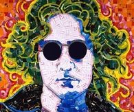 Colorful Portrait of John Lennon