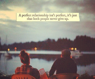 a perfect relationship
