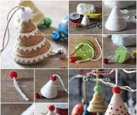 How to make Twine Christmas Tree Ornaments