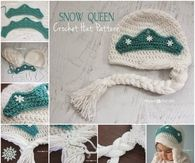 How to crochet a snow hat