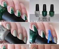 How to style christmas tree nails