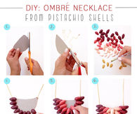 DIY Pistachio Necklace Craft