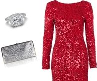Sparkly Christmas Outfit