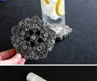 Paper Roll Decorations