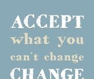accept or change