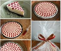 How to make white chocolate cheesecake
