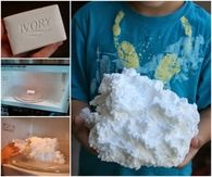 How to make soap clouds