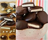 How to make homemade peppermint patties