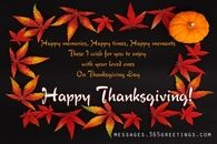 Happy Thanksgiving Wishes 2014