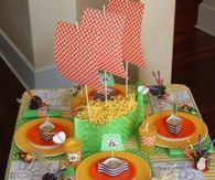 Kids Thanksgiving Table