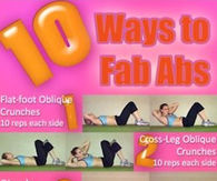 10 Ways To Fab Abs