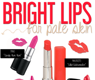 Bright Lips For Pale Skin