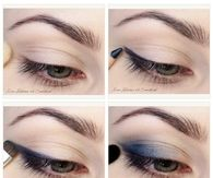 pretty Blue Eye Makeup