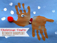 Reindeer Kids Craft