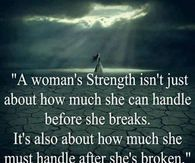 a women's strength