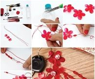 DIY Plastic Flowers