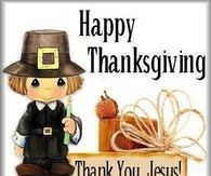 Happy Thanksgiving Thank You Jesus