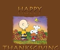 Thanksgiving Snoopy and Charlie Brown