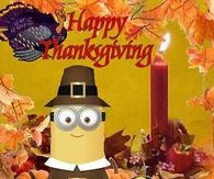 Hapy Thanksgiving Minion