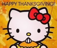 Happy Thanksgiving Hello Kitty